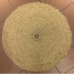 Scourtin ø80cm naturel blanchi