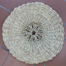 Scourtin ø50cm naturel blanchi
