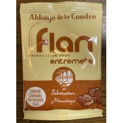 Flan saveur caramel au...