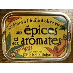 Sardines aux épices et aux...