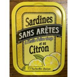 Sardines au citron sans arêtes