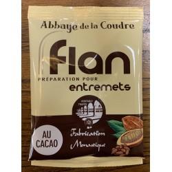 Flan au cacao
